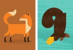 Animal Illustrations | Illustrator: Alan Dalby | Source:
