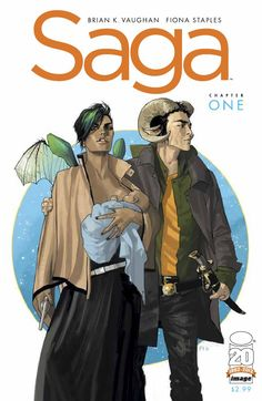 Saga by Brian K Vaughn & Fiona Staples