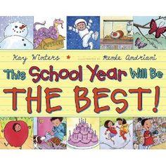 Beginning of the school year book.
