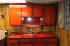 1940s montgomery ward sink and cabinets -$800