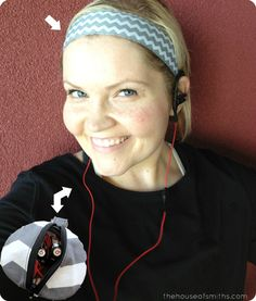 My Favorite Things - The Must Haves - Sweet Sweat Bands and Headphone Pouch