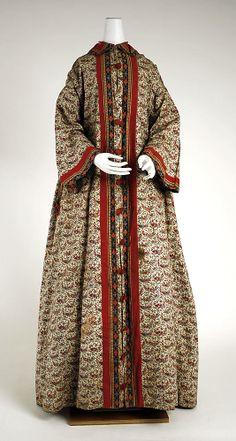 Wrapper 1840-1860. Met museum.