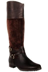 Ralph Lauren Riding Boots In Brown