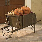 Wheelbarrow Decorative