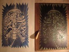 Very detailed tutorial about linoleum cut printmaking.  This even includes some history about lino cut printmaking.  Perfect resource for a lesson plan.