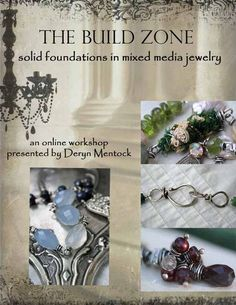 online jewelry making class-handmade jewelry http://somethingsublime.typepad.com/jewelry_works/classes.html      #deryn #mentock #jewelry #handmade