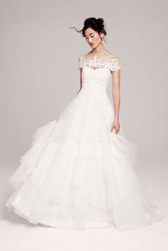 Hayley Paige 'Mila' gown   #weddingdress #dress #wedding