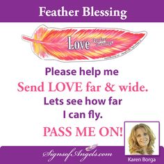 SHARE - Give your friends a Blessing of Love.