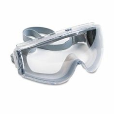 Uvex Stealth Antifog, Antiscratch, Antistatic Goggles, Clear Lens, Gray Frame (UVXS3960C)