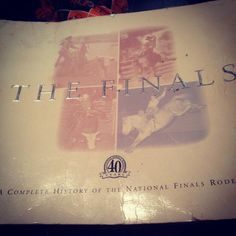 THE FINALS A Complete History Of The National Finals Rodeo (First 40 years) pic.twitter.com/2R6O8YkEdO