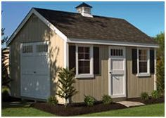 Order sturdy, attractive, Amish-built sheds shipped to you complete, or as easy-to-assemble kits from LancasterBarns.com