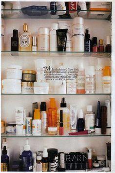 Sofia Coppola's medicine cabinet.