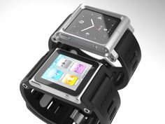 This is so cool.  iPod Nano/watch.  This kit converts your iPod Nano to a watch.  Very cool design and functional