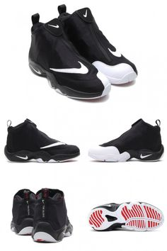 "Nike Air Zoom Flight 98 ""The Glove"" Black/White-University Red"