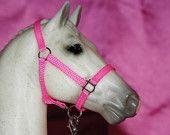Custom Halter & Lead Rope for Model Horse or Breyer Horse (Slotted Ring)