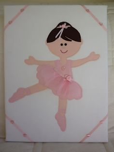 Applique ballerina