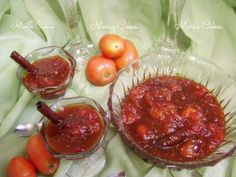 Dominican Tomato Dessert (Dulce de Tomate) @Marianne Tone Silveira Correa Núñez (Mari's Cakes)