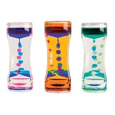 Liquid Timers - Soothing Liquid Motion Toys for your desk or room.