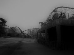 Abandoned amusement park in New Orleans- picture by Keoni Cabral