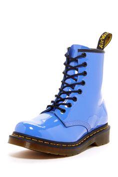 Dr Martens blue boot