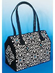 Plastic Canvas - Night Day Plastic Canvas Purse Kit - #837477 - What a lovely idea!