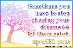 Let Dreams Catch Quote Graphic
