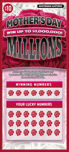 Conceptual scratch-off lottery ticket created in Illustrator #lottery
