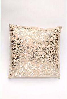 glitter pillow.