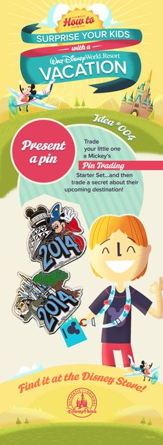 How to surprise your kids with a Walt Disney World vacation!