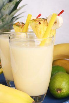 pineapple morning smoothie