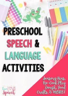 Preschool Speech Act