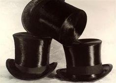 Chapeaux haut-de-forme, 1960    by Vincenzo Balocchi