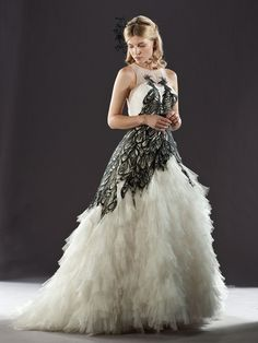 Harry Potter Fairytale wedding dress