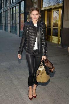 Olivia Palermo in New York City. - THE OLIVIA PALERMO LOOKBOOK