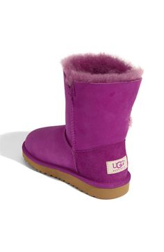 UGG® Australia 'Bailey Button' Boot (Walker, Toddler, Little Kid & Big Kid)(Nordstrom Exclusive Color)