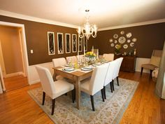 dining rooms, dine room, farmhouse table, casual elegance, sabrina soto, hgtv, high low, highlow project, elegant dining