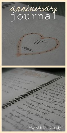 Keep a journal to help you remember anniversaries that you can read one day and relive the memories.