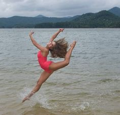 ballet and  the ocean