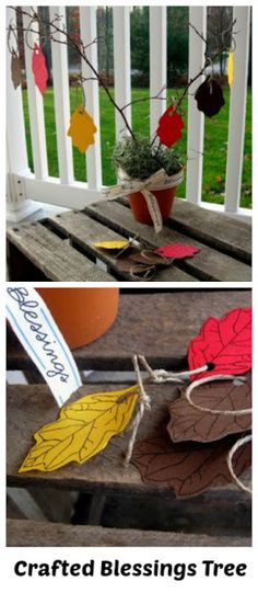 Thanksgiving Craft Ideas #diy #tutorials