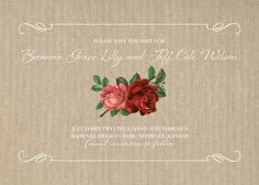 Save the Date Card - Alluring