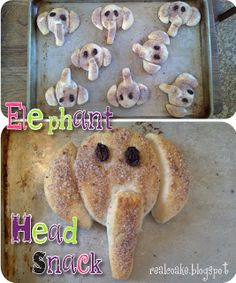The Real Thing with the Coake Family: Elephant Head Snack