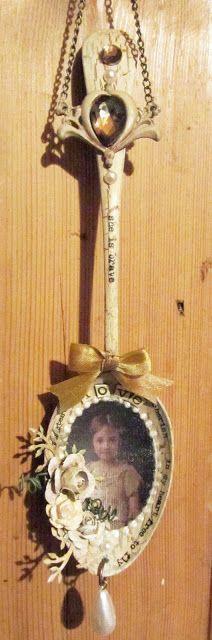 fork, challenges, crafti, alter art, alter spoon, artist craft, eclect paperi, class idea, crafts