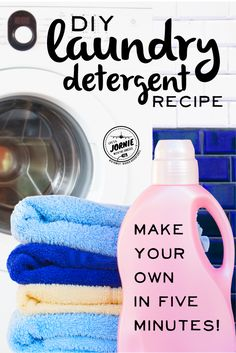 DIY 5-Minute Laundry