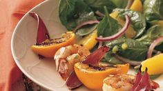 Blueberry and Orange Spinach Salad recipe from Betty Crocker