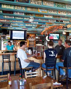 Tortuga's Lie in The Outer Banks  We LOVE eating here...great food, cool atmosphere