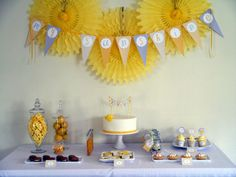 Little Ray of Sunshine baby shower