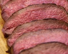 Dry-Rubbed, Slow-Roasted Venison Loin - Wild Game Recipes. Pro Hunter ...