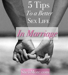 Over the years I have collected a series of tips that have helped me figure out how to engage my sexual energy. They might seem simple to some, but they've been my lifeline to the sexual connection I want to have with my husband.