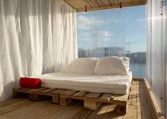 Hotel Shabby Shabby's 22 pop-up guest rooms included a recycled riverside cabin.