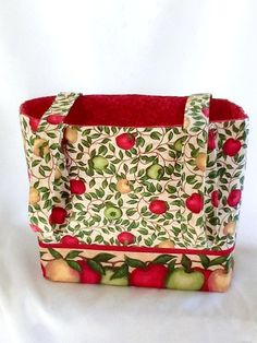 Tote Fabric Handmade Tote Bag Custom by RidgeTopEmbroidery on Etsy, $22.00